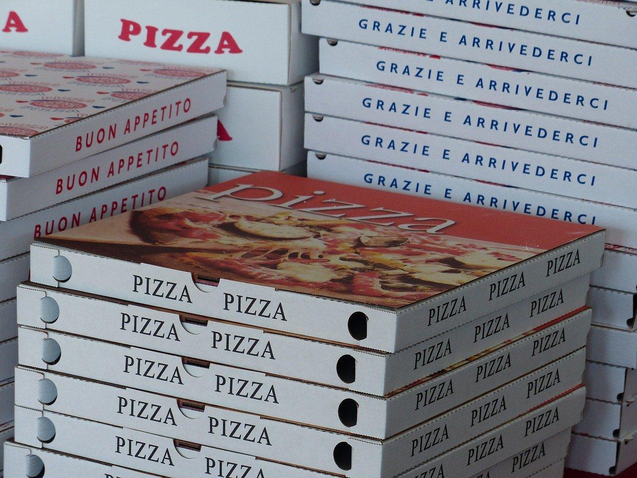 Vous pouvez recycler vos boîtes à pizza !